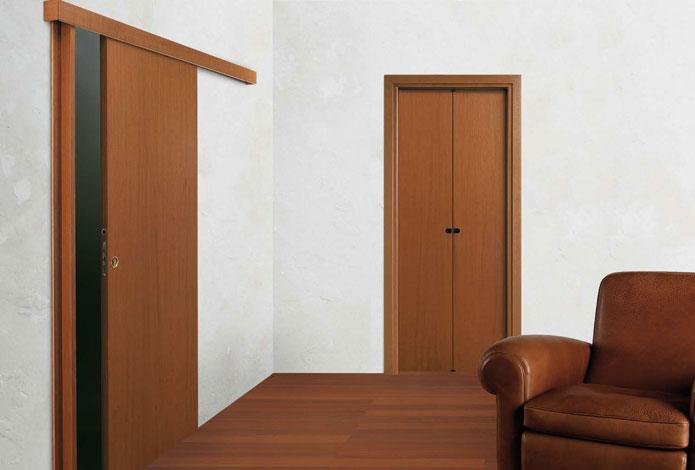 Porte scorrevoli a trieste cvm s r l - Porta scorrevole esterna muro ...